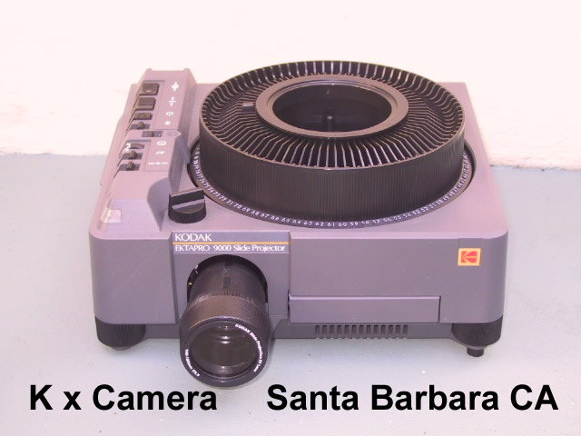 Kodak Ektapro 7000 Slide Projector - KX Camera Kodak Slide Projectors Since 1980 - 1732-1/2 Grand Ave. Santa Barbara, CA 93103 805-963-5625
