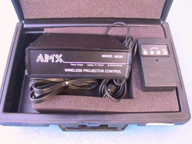 AMX MX 30 Radio Remote Contril - KX Camera Kodak Slide Projectors Since 1980 - 1732-1/2 Grand Ave. Santa Barbara, CA 93103 805-963-5625