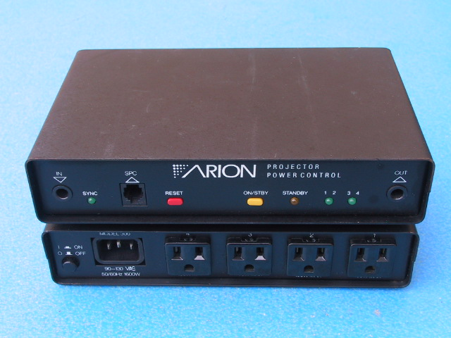 Arion AC Power Control - KX Camera Kodak Slide Projectors Since 1980 - 1732-1/2 Grand Ave. Santa Barbara, CA 93103 805-963-5625