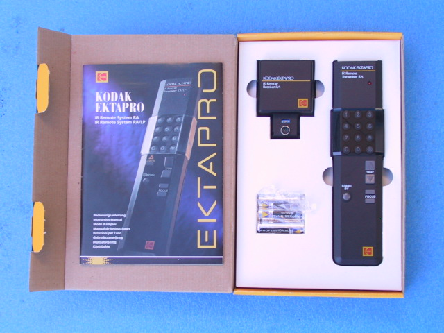 Kodak EktaPro IR RA Wireless Remote Control - KX Camera Kodak Slide Projectors Since 1980 - 1732-1/2 Grand Ave. Santa Barbara, CA 93103 805-963-5625