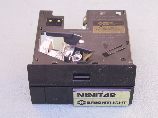Navitar Lamp Module - KX Camera Kodak Slide Projectors Since 1980 - 1732-1/2 Grand Ave. Santa Barbara, CA 93103 805-963-5625