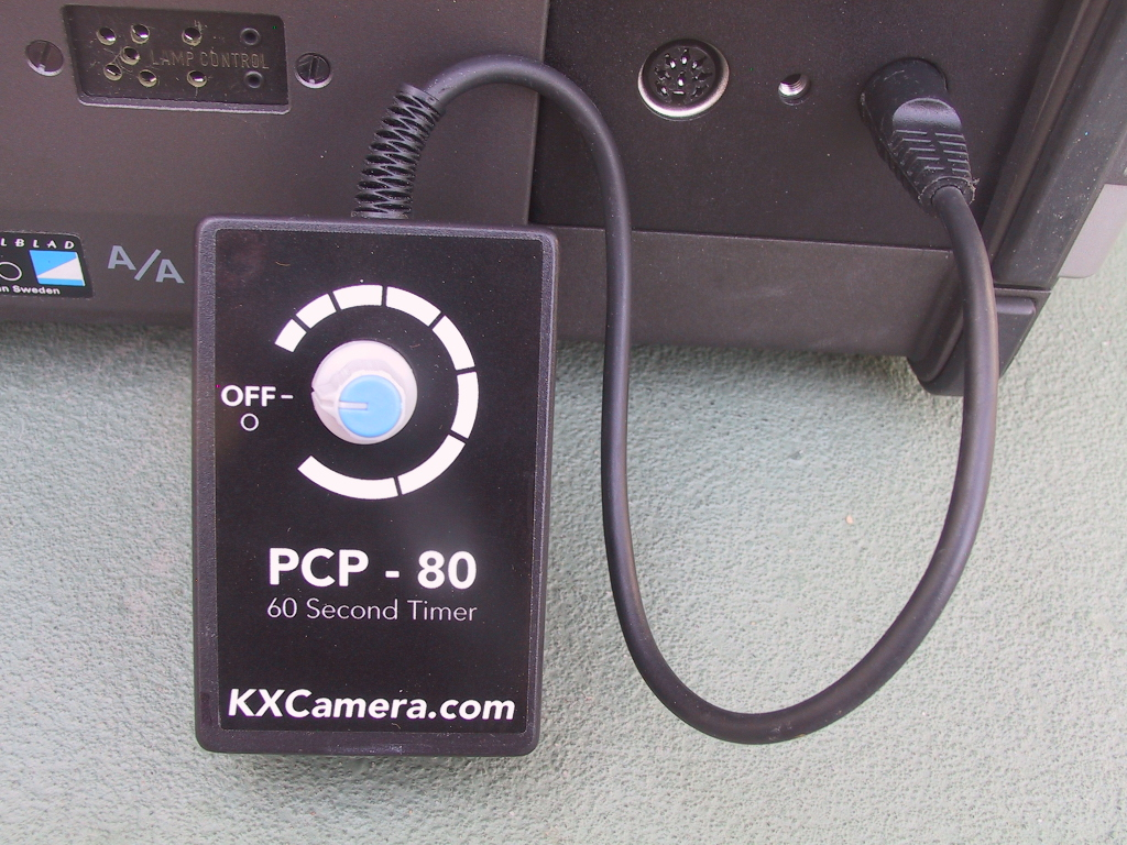 Self Timer for Hasselblad PCP-80 Slide Projector - KX Camera Kodak Slide Projectors Since 1980 - 1732-1/2 Grand Ave. Santa Barbara, CA 93103 805-963-5625