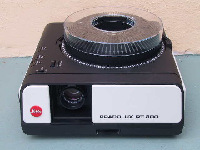 Leitz RT-300 Slide Projector - KX Camera Kodak Slide Projectors Since 1980 - 1732-1/2 Grand Ave. Santa Barbara, CA 93103 805-963-5625