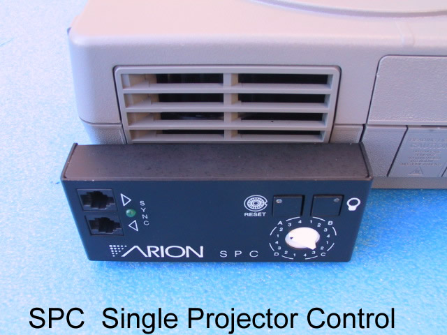 Arion SPC Single Projector Dissolve Unit - KX Camera Kodak Slide Projectors Since 1980 - 1732-1/2 Grand Ave. Santa Barbara, CA 93103 805-963-5625